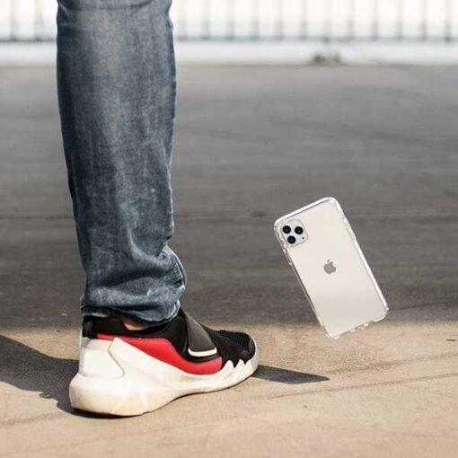 ovitek UNIQ z blescicami za iPhone 11 11 pro transparent 3