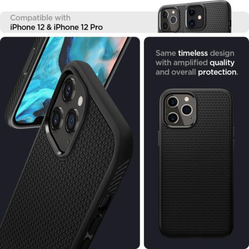 ovitek spigen liquid air za iphone 12 pro 4