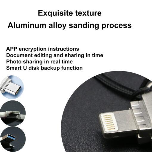 4 v 1 USB kljuc OTG External Storage Memory Stick 5