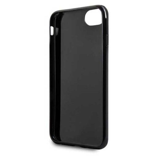 Guess ovitek iPhone SE 2020 iPhone 8 iPhone 7 crna black hard case Glitter Triangle 2