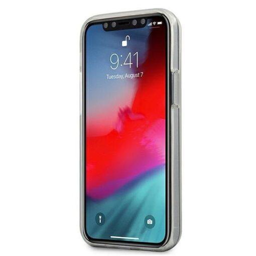 ovitek Guess iPhone 12 mini crna black hardcase 4G Gradient 1