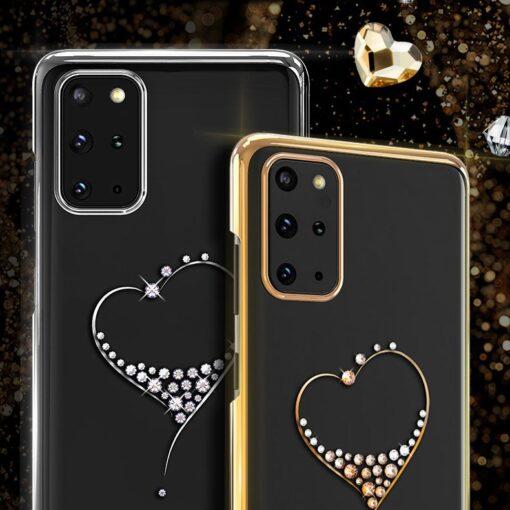 ovitek Kingxbar Wish Series Swarovski crystals za Samsung Galaxy S20 S20 Plus S20 Ultra 2