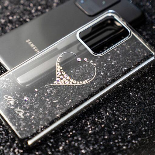 ovitek Kingxbar Wish Series Swarovski crystals za Samsung Galaxy S20 S20 Plus S20 Ultra 3