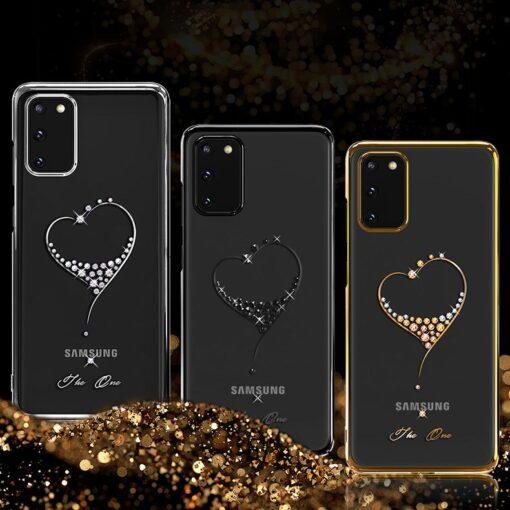 ovitek Kingxbar Wish Series Swarovski crystals za Samsung Galaxy S20 S20 Plus S20 Ultra 4