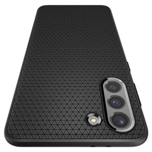ovitek Spigen Liquid Air Galaxy S21 Matte Black crna 5