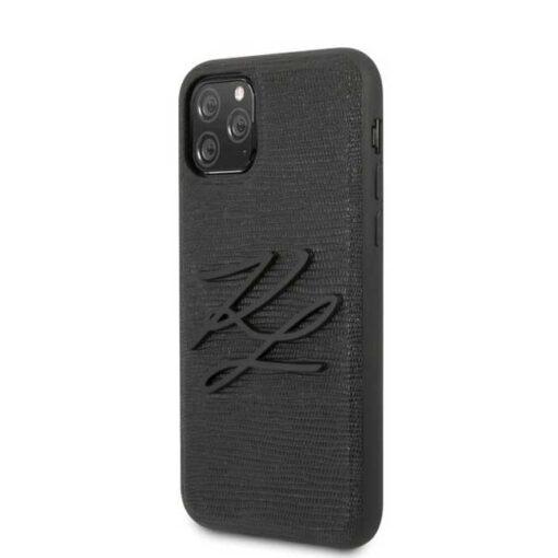 ovitek Karl Lagerfeld iPhone 11 Pro Max hardcase crna Lizard 1
