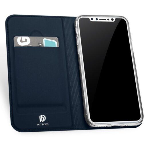 preklopni etui DUX DUCIS Skin Pro Bookcase type case for iPhone XS X modra blue 2