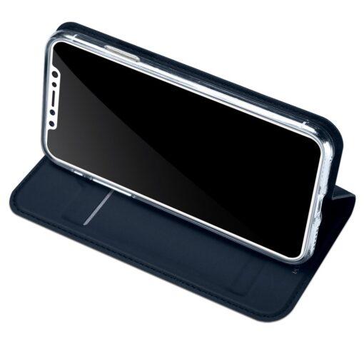 preklopni etui DUX DUCIS Skin Pro Bookcase type case for iPhone XS X modra blue 3