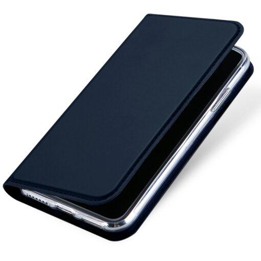 preklopni etui DUX DUCIS Skin Pro Bookcase type case for iPhone XS X modra blue 4