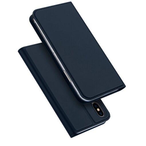 preklopni etui DUX DUCIS Skin Pro Bookcase type case for iPhone XS X modra blue