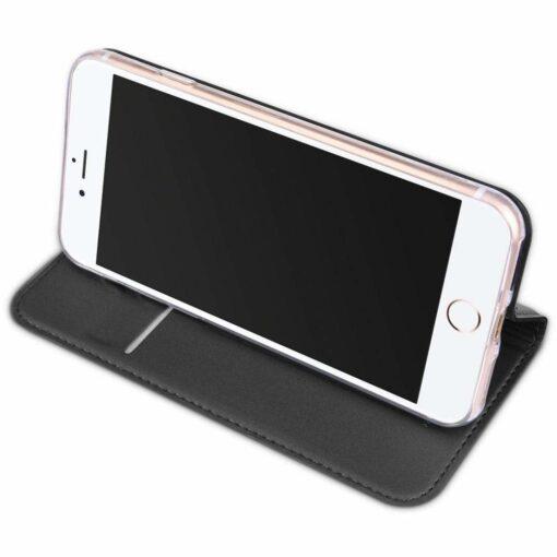 preklopni etui DUX DUCIS Skin Pro Bookcase type case za iPhone SE 2020 iPhone 8 iPhone 7 crna black 2