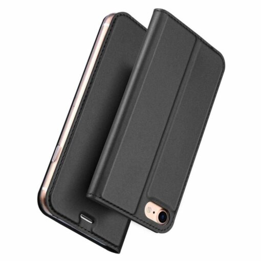 preklopni etui DUX DUCIS Skin Pro Bookcase type case za iPhone SE 2020 iPhone 8 iPhone 7 crna black 3
