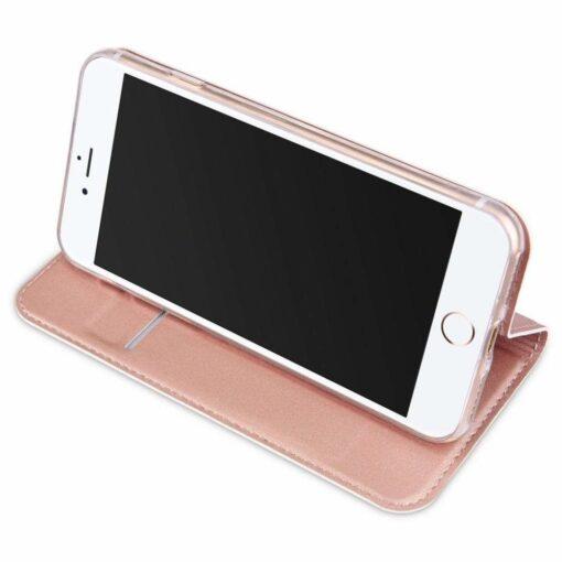 preklopni etui DUX DUCIS Skin Pro Bookcase type case za iPhone SE 2020 iPhone 8 iPhone 7 roza pink 1