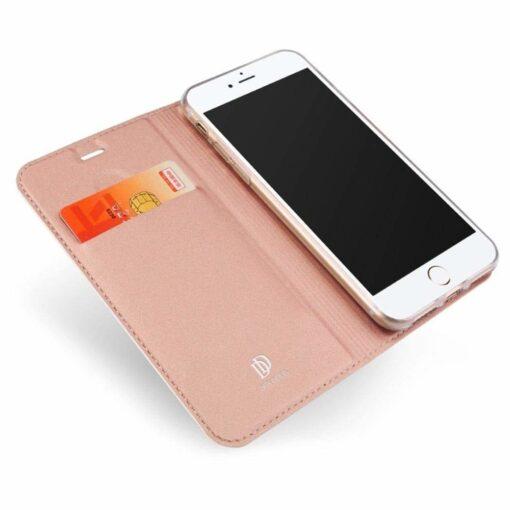 preklopni etui DUX DUCIS Skin Pro Bookcase type case za iPhone SE 2020 iPhone 8 iPhone 7 roza pink 2