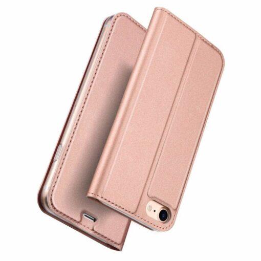 preklopni etui DUX DUCIS Skin Pro Bookcase type case za iPhone SE 2020 iPhone 8 iPhone 7 roza pink 3