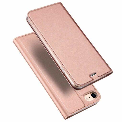 preklopni etui DUX DUCIS Skin Pro Bookcase type case za iPhone SE 2020 iPhone 8 iPhone 7 roza pink