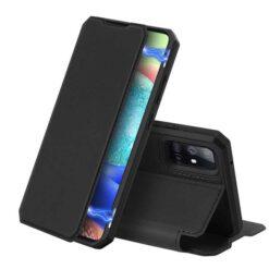 preklopni etui DUX DUCIS Skin X za Samsung Galaxy A51 5G crna