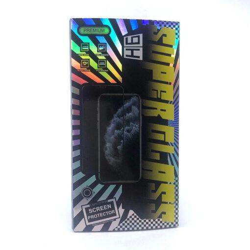kaljeno zascitno steklo 5d full glue za huawei y6 2019 crna obroba