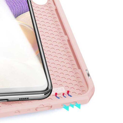 preklopni etui DUX DUCIS Skin Pro Bookcase type case for Samsung Galaxy A32 5G black roza 3