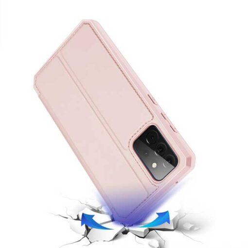 preklopni etui DUX DUCIS Skin Pro Bookcase type case for Samsung Galaxy A72 5G black roza 2