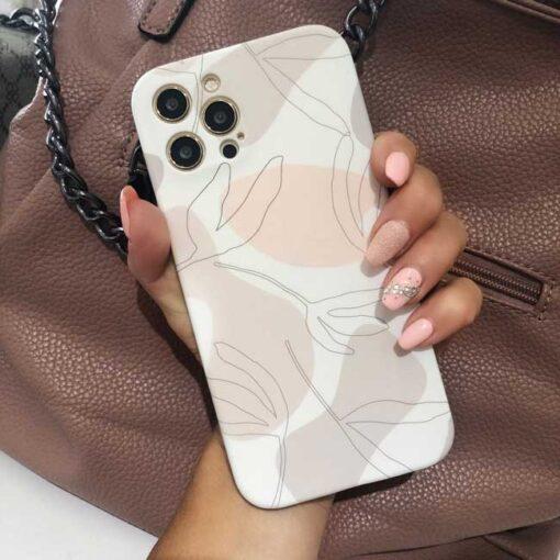 ovitek soft shell pastel art za iphone 12 mini