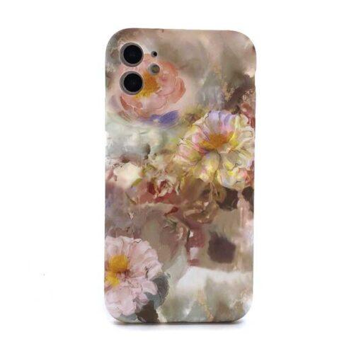 iphone pastel flowers za 11