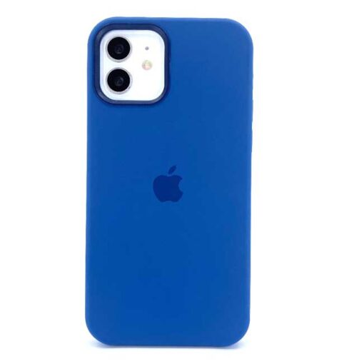 iphone silikonski ovitek za 12 12pro mag safe modra 2