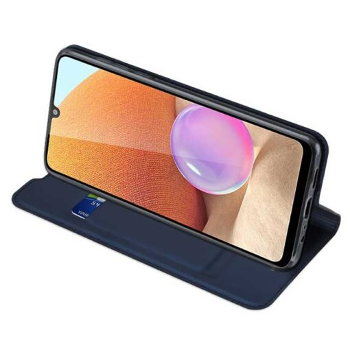 preklopni etui DUX DUCIS Skin Pro Bookcase type case for Samsung Galaxy A32 4G blue modra 2