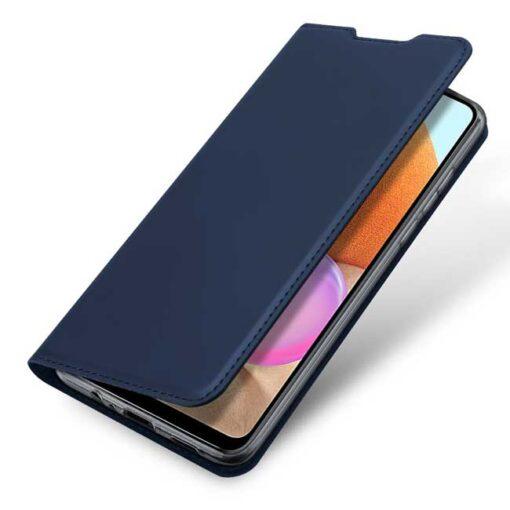 preklopni etui DUX DUCIS Skin Pro Bookcase type case for Samsung Galaxy A32 4G blue modra 3