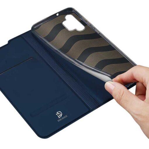 preklopni etui DUX DUCIS Skin Pro Bookcase type case for Samsung Galaxy A32 4G blue modra 5