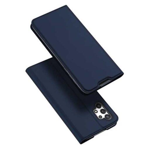 preklopni etui DUX DUCIS Skin Pro Bookcase type case for Samsung Galaxy A32 4G blue modra