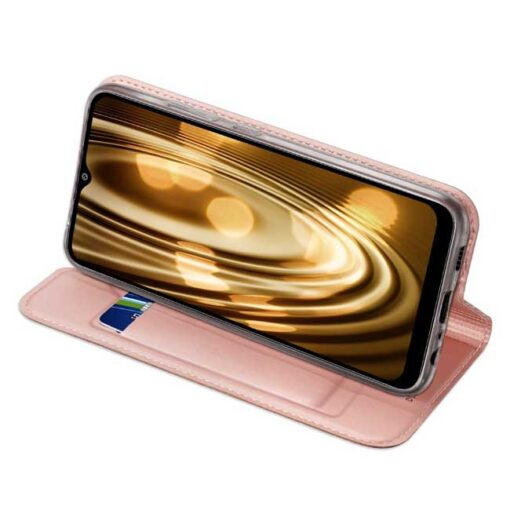 preklopni etui DUX DUCIS Skin Pro Bookcase type case for za Samsung Galaxy A02s pink roza 2