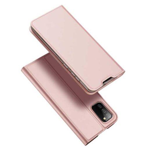 preklopni etui DUX DUCIS Skin Pro Bookcase type case for za Samsung Galaxy A02s pink roza