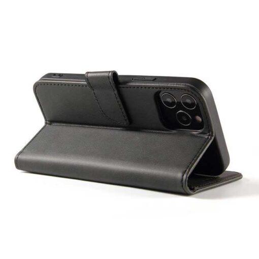 preklopni etui Magnet Case elegant bookcase type case with kickstand for za Samsung Galaxy A32 4G black crna 1