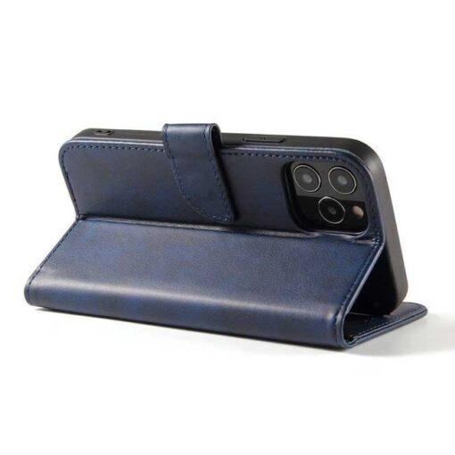 preklopni etui Magnet Case elegant bookcase type case with kickstand for za Samsung Galaxy A32 4G blue modra 1