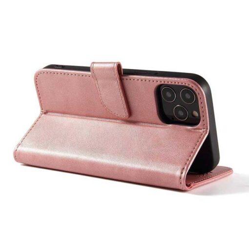 preklopni etui Magnet Case elegant bookcase type case with kickstand for za Samsung Galaxy A32 4G pink roza 1