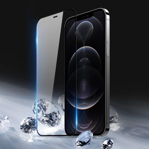 zascitno steklo 10D full screen tempered glass za iPhone 12 Pro max s crno obrobo 1