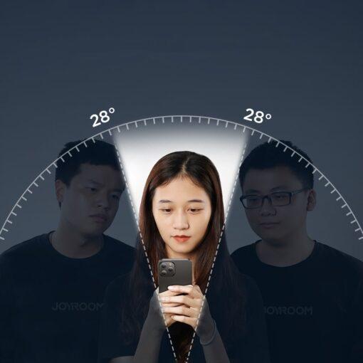 zascitno steklo privacy 5D full screen tempered glass za iPhone 12 Pro iPhone 12 s crno obrobo 4