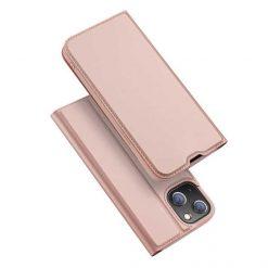 preklopni etui Dux Ducis Skin Pro za iPhone 13 13 mini roza