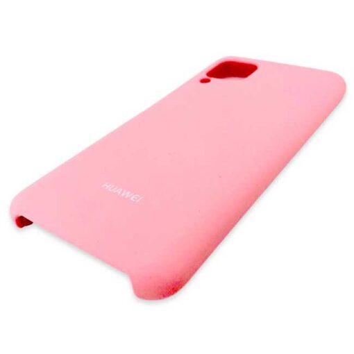 silikonski ovitek za huawei p40 lite roza 1